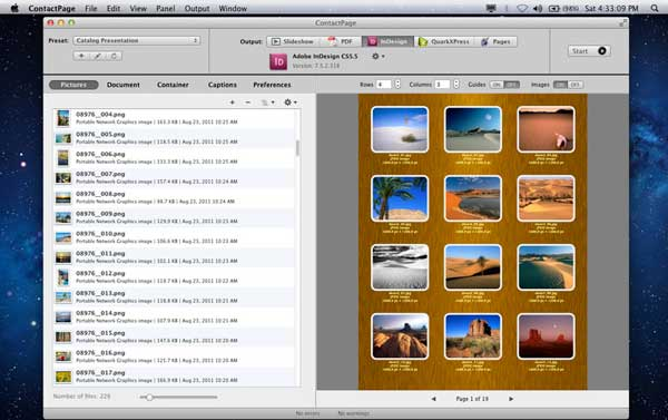 export one page of pdf mac